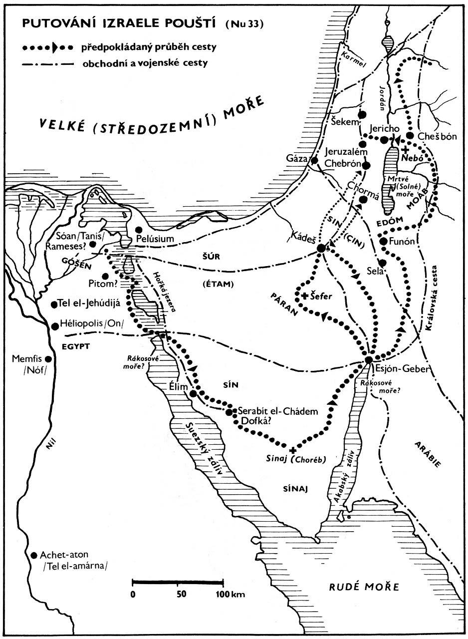 Bible Map Putovani Izraele Pousti Pilgrimage Of Israel By Desert